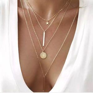 NEW Saga Layered Necklace
